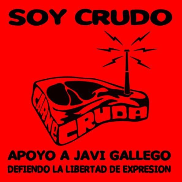 SOY CRUDO - Apoyo a Javi Gallego - Carne Cruda (RNE3)